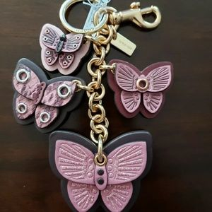 ‼️🎃SALE WAS 125$💯Auth Coach Butterfly Charm